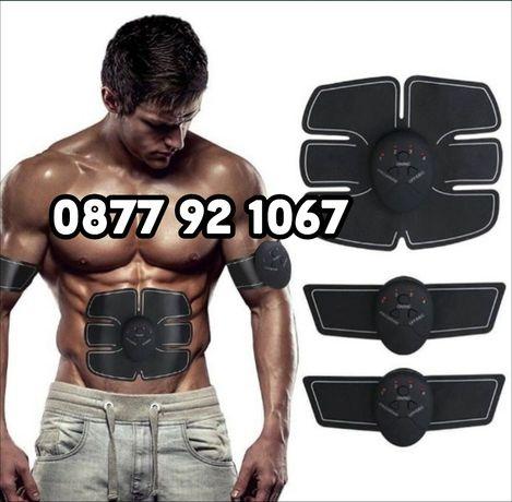 Фитнес колан за отслабване 3 части за оформяне на плочки бицепс мускул