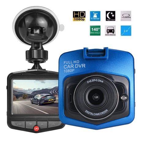 Видеорегистратор за кола GT300 Full HD с функция WDR, син