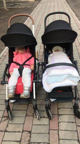 Коляска для близнецов, двойняшек и погодок