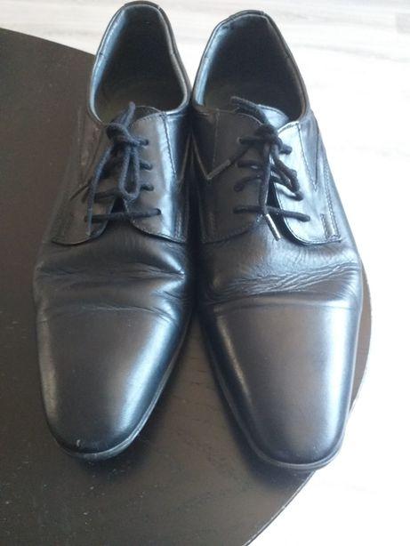 Pantofi piele, 40, barbat