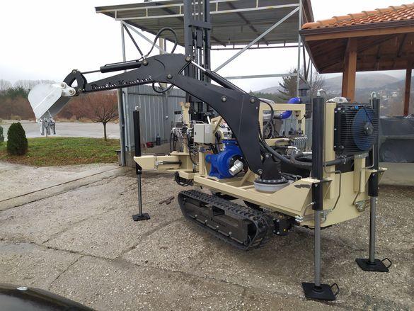 Сондажи за вода сонда сондаж кладенец сондиране труднодостъпни места