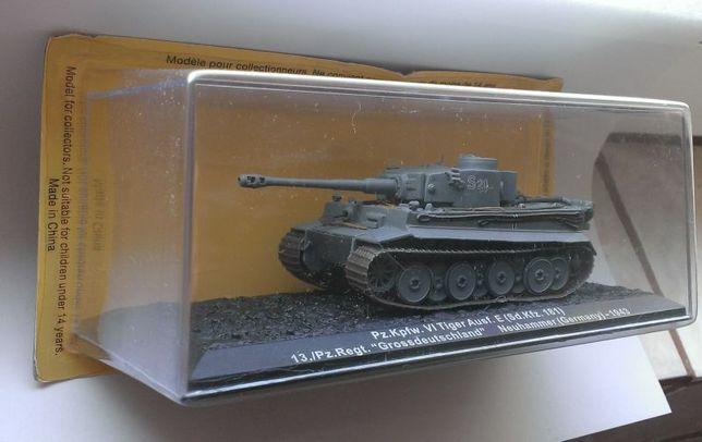 Macheta Tanc Tiger 1 Sd.Kfz.181 Germania 1943 WW2 - Altaya 1/72