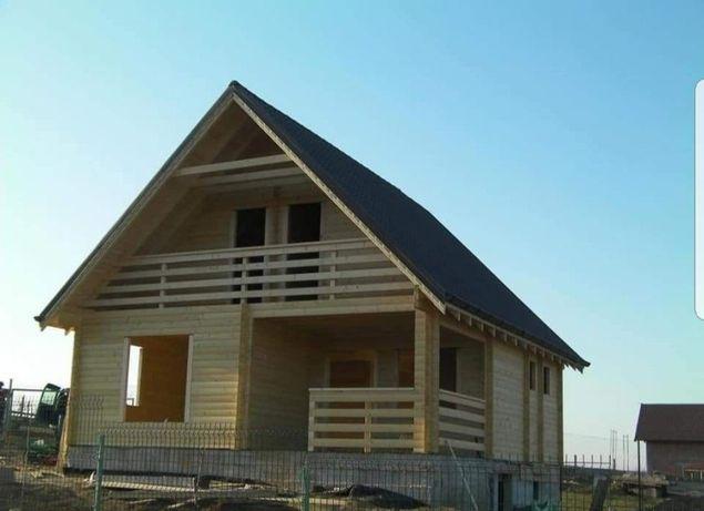 Vând case din lemn case modulare case din ponouri Sandwich orce model