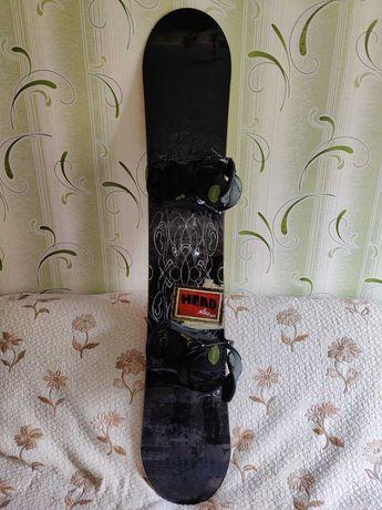 Сноуборд HEAD комплект: доска, крепления и ботинки