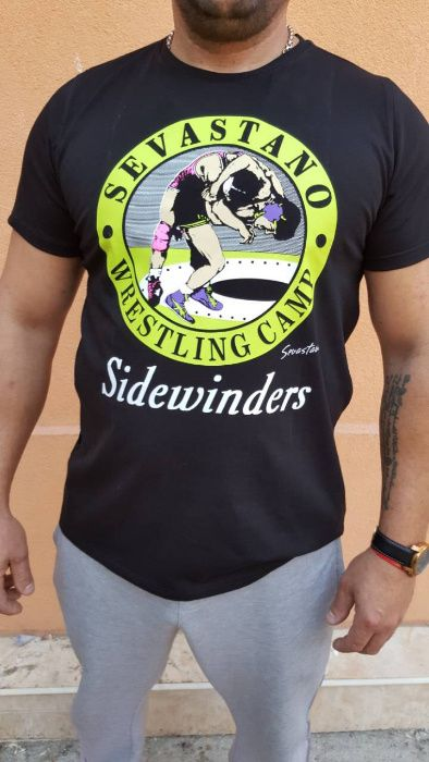 Тениска SEVASTANO от Турнира по Борба