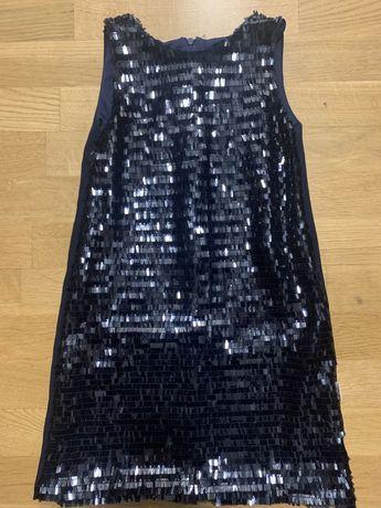 Детска рокля с пайети