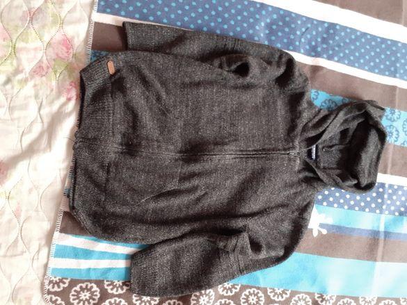 Топла жилетка за момче (6-7-8 години)