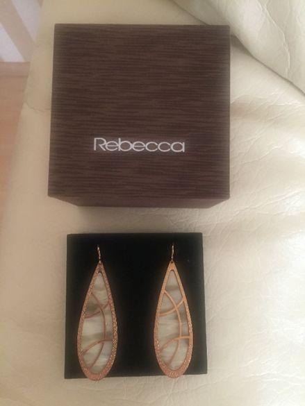 Седефени обеци Rebecca