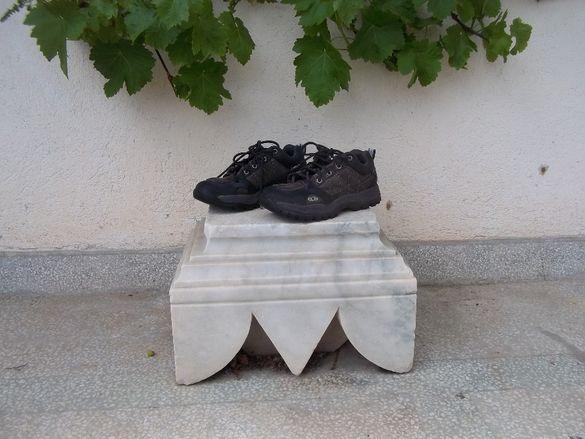 Велурени обувки маратонки SALOMON