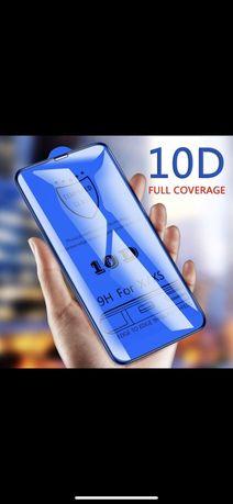 Folie sticla 10D iphone XR XS X XS MAX full screen coverage