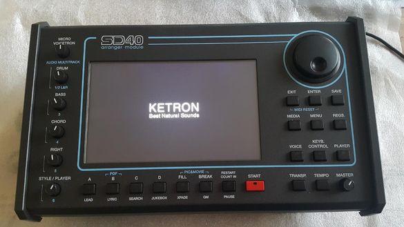 Продавам KETRON SD40 Arranger sound module