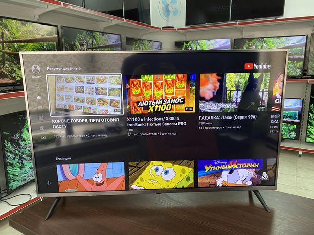 Телевизор Xiaomi 4К Smart TV Android 43'(109см) Рассрочка Гарантия 12