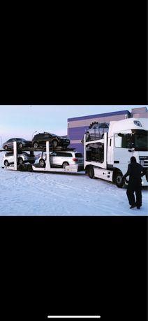 Автовоз Доставка машин Перевозка авто услуги автомобилей трал Алматы