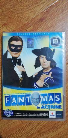 FANTOMAS ÎN ACȚIUNE DVD Pret 100 ron în Fălticeni Trimit în Tara