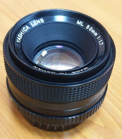 Yashica ML 50mm 1:1.7 (Yashica/Contax)