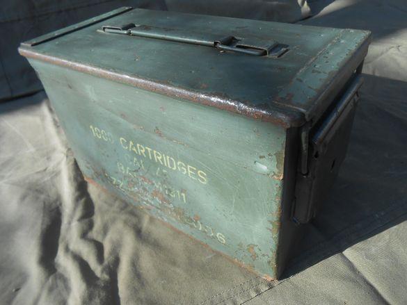 Американско сандъче за патрони (кутия за патрони)