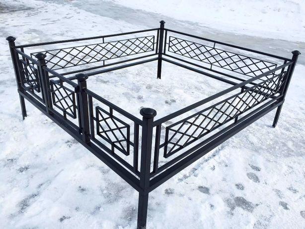 Изготовление могильной оградки