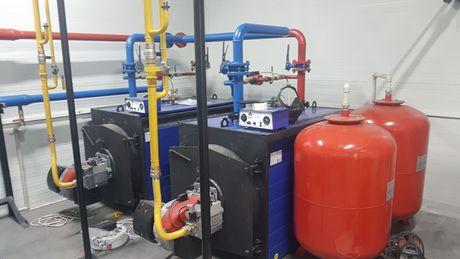 Ремонт газовых, дизельных котлов и горелок. Гарантия