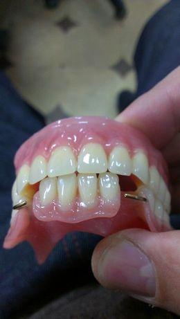 Зубные протезы на дом