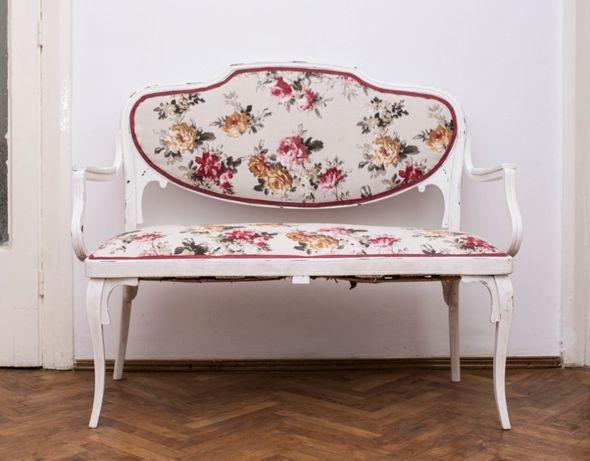 Canapea vintage, restaurata