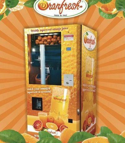 Апельсиновый фреш-автомат