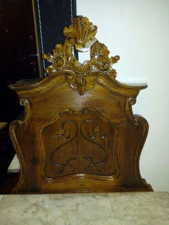 Secretaire Rococo sculptat lemn