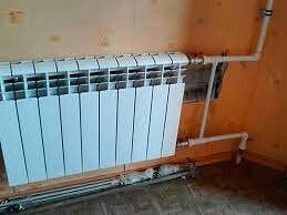 Установка отопления установка радиаторов пайка пластиковых труб