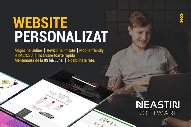 Creare Site uri Web Profesionale VALCEA, Magazine Online, Social Media