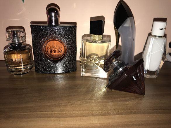 Оригинални парфюми YSL,Carolina Herrera,Lancome,Givenchy,Mont Blanc