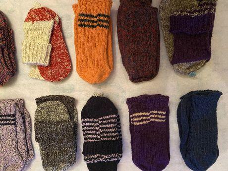 Зимни дебели чорапи