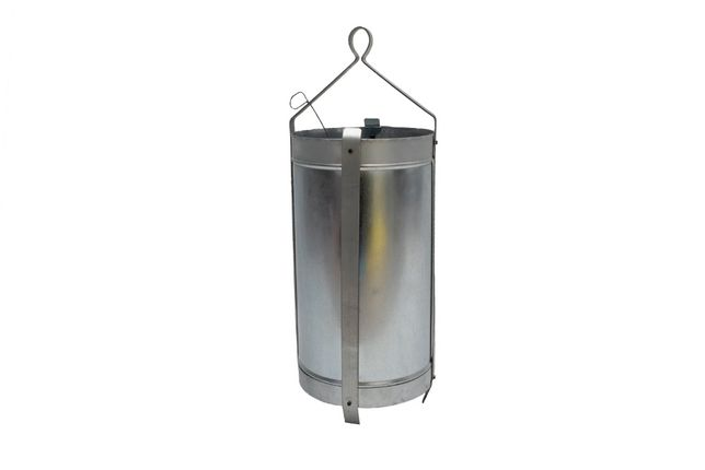 Galeata put groasa tabla zincata, diametru 200x400 mm, 10 litri
