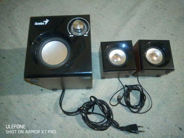 Sistem audio Genius. 2.1