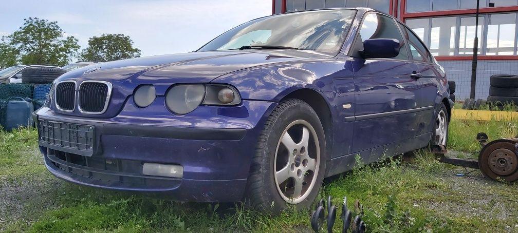 БМВ е46 компакт 318 бензин 116 к.с. / BMW E 46 318i n42b18a НА ЧАСТИ