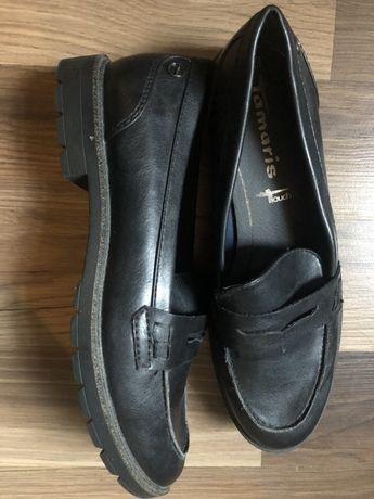 Pantofi noi Tamaris piele mas 38.5/pe ei scrie 39, noi