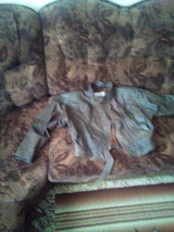Дамско кожено късо яке
