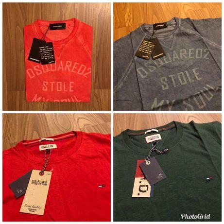 Dsquared2 и Tommy Hifiger Оригинални Мъжки Тениски