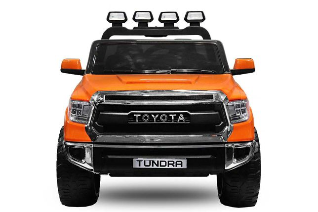 Masinuta electrica pentru 2 copii Toyota Tundra 90W 12V #Portocaliu