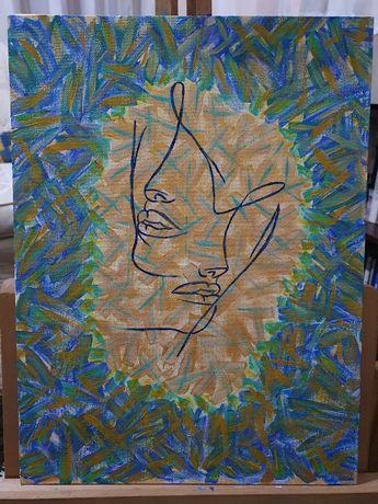 Tablou, acrylic, abstract