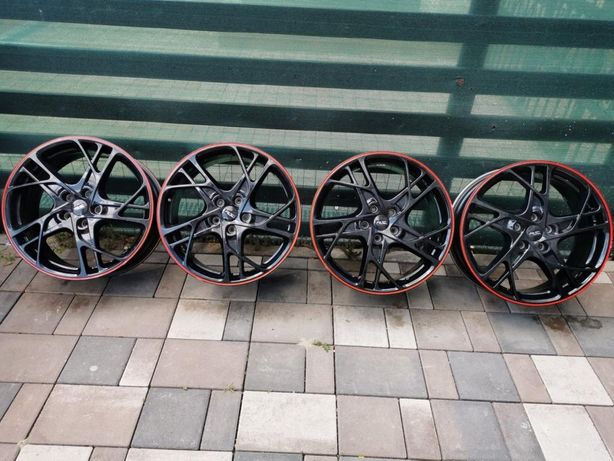 Set 4x jante Megane rs 265 trophy red band edition