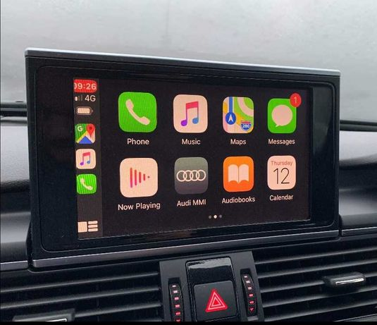 Apple CarPlay Android Auto Audi A3 A4 A5 A6 A7 A8 Q5 Q7 R8 TT