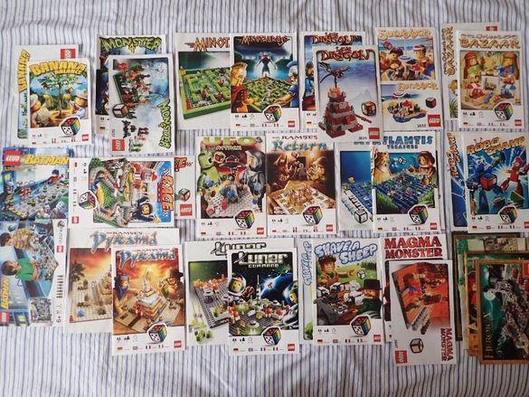 Книжки LEGO от различни Лего настолни игри