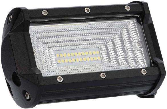 72w Халоген диоден LED Бар Работна Лампа Светлина на 12V 24V 1бр 1897