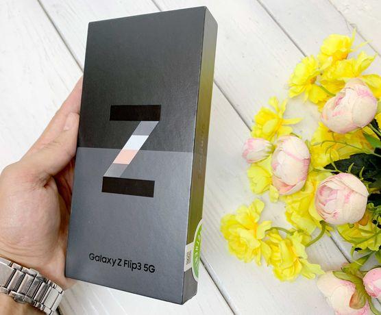 Новый Samsung Z Flip 3. 5G. 128 GB. Белый. официальный. Запечатанный