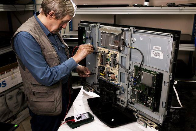 Ремонт телевизоров, гарантия от 1 года до 3 лет. Детали с заводов!