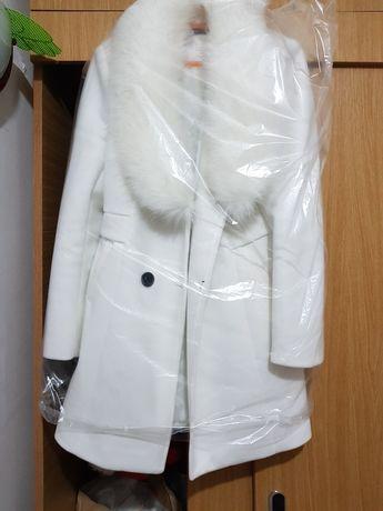 Palton cu blana nou