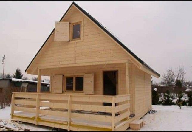 Vând case din lemn cabane case de vacanta