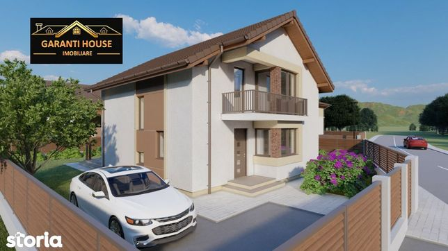 Tautii Magheraus, casa noua, 169.79 mp, 4.5 ari teren, 93 000€ neg.