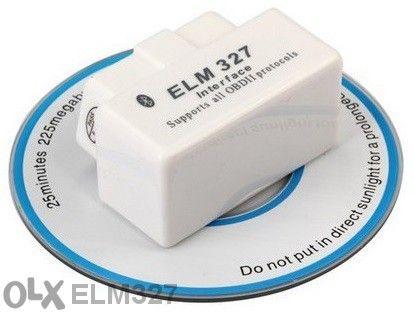 Bluetooth интерфейс за диагностика на автомобили Elm327 obd2 - New Sup
