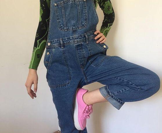 Комбинезон джинсовый, джинсы, новые, женские