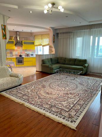 3 комнатная квартира с евроремонтом в ЖК Жастар ул Курмангазы 145